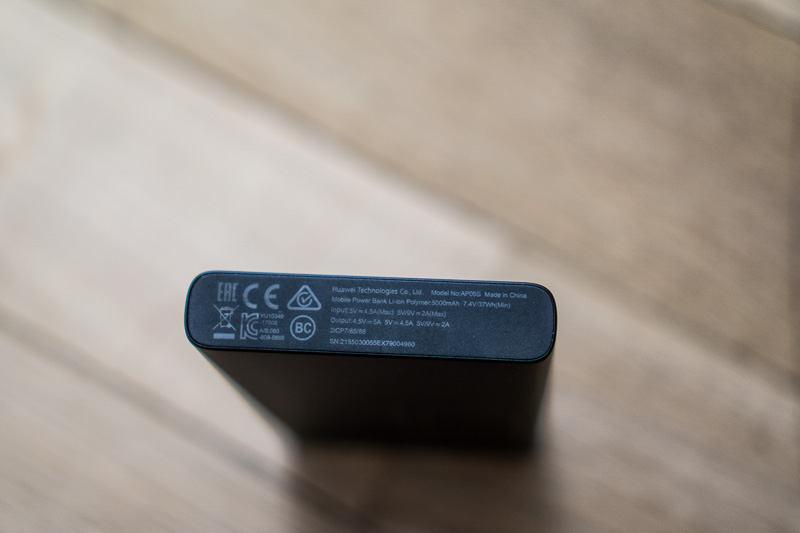 baterie externă Huawei AP09S specificații