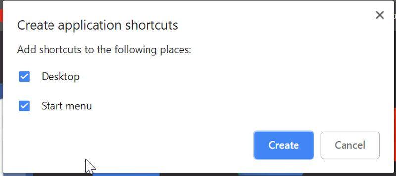 Cum să adaugi aplicațiile Google pe taskbar în Windows 10- salveaza pe desktop