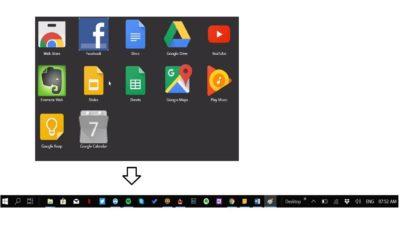 Cum să adaugi aplicațiile Google pe taskbar în Windows 10