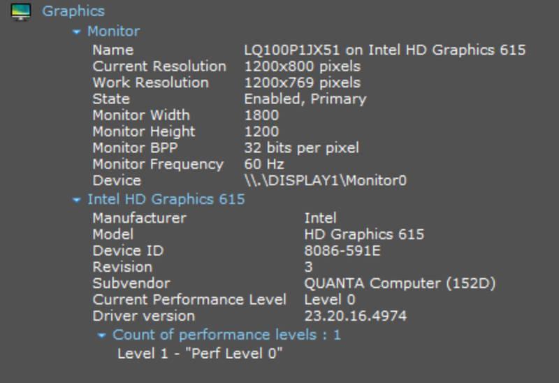 Grafica Surface Go