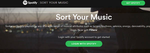 Sorteaza playlist-ul din Spotify
