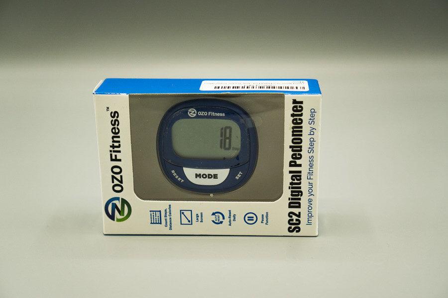 cutie cu pedometru OZO Fitness SC2