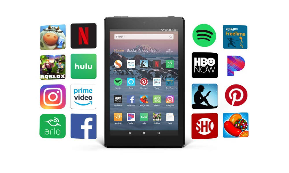Amazon Kiindle Fire și aplicații