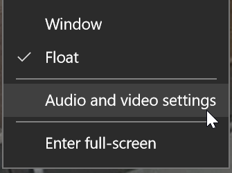 skype blur audio and video settings