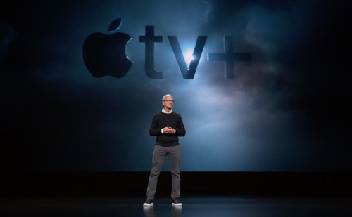 Apple TV+ si Tim Cook