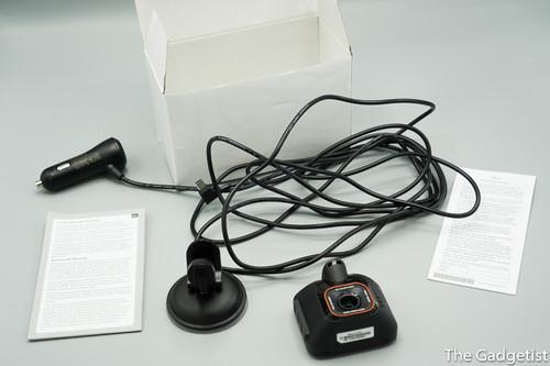 Camera video auto Mio MiVue C570 accesorii, cabl, garantie, ventuza