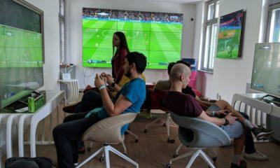 echipe jucand FIFA19 la BLP21