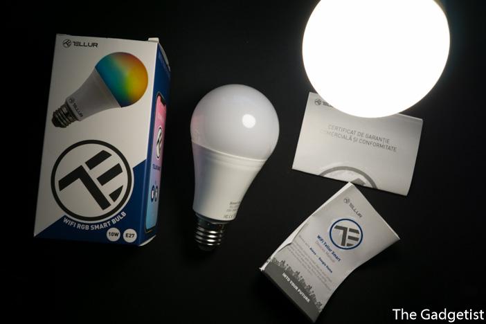 pachet bec inteligent LED Tellur RGB