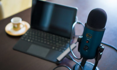 microphone Blue Yeti langa surface go