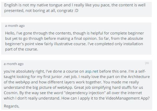 feedback curs