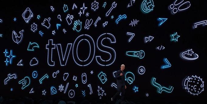 Apple tvOS logo