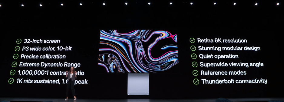 Pro Display XDR specificatii