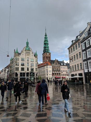 Strøget, cea mai lungă stradă pietonală din Europa