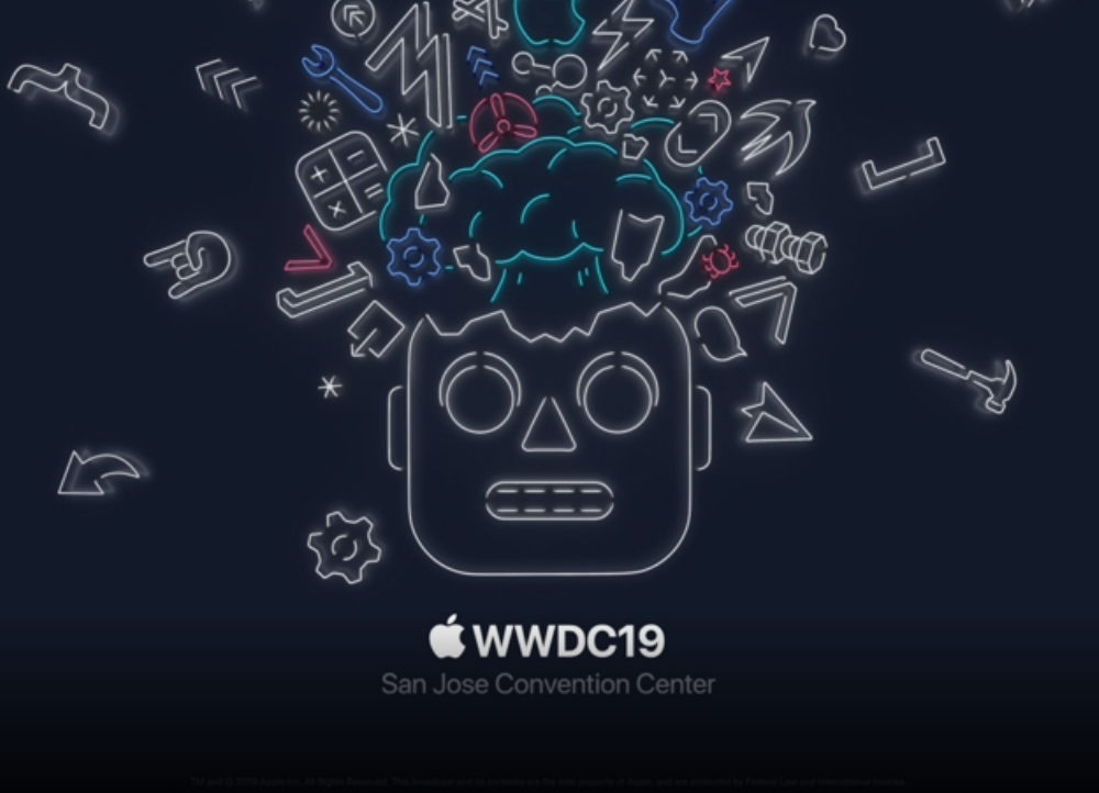 Apple WWDC 19 logo
