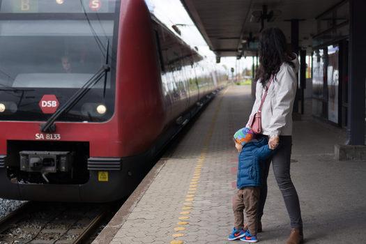 Tren DSB în COpenhaga