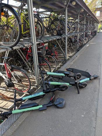 Trotinete trantite Copenhaga