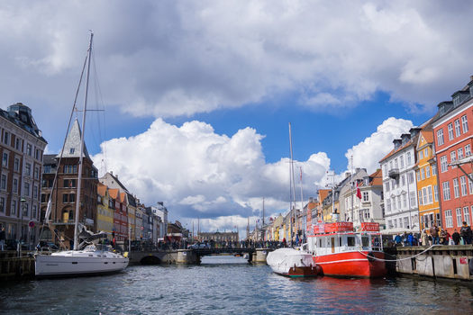 imagine port Nyhavn intrare
