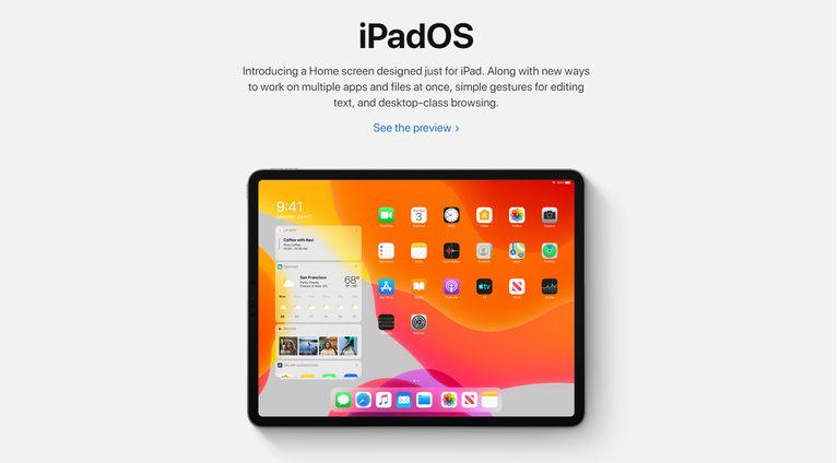 prezentare iPadOS