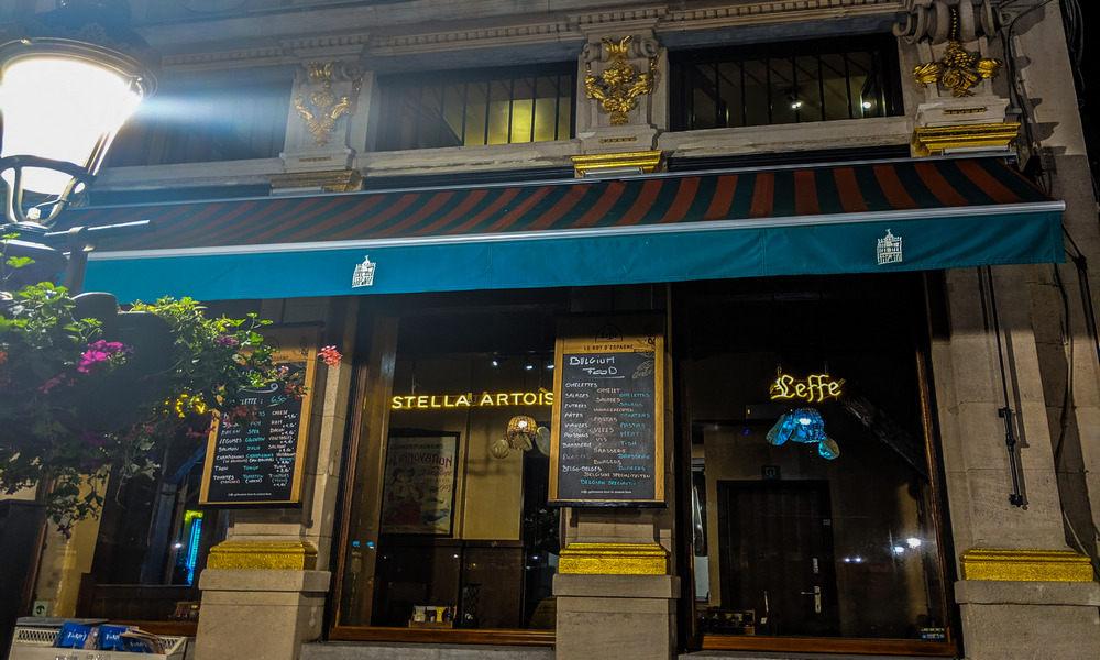 restaurant in Bruxelles
