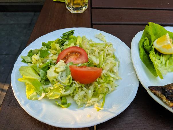 salata la Adria Grill