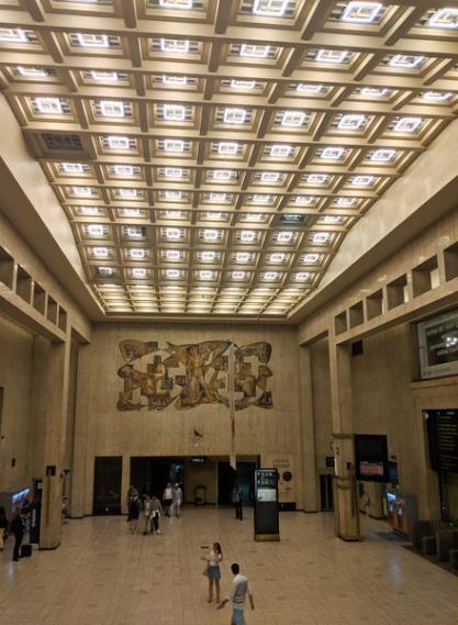 Gara centrală din Bruxelles