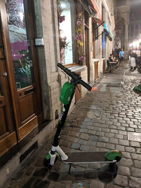 trotinete in Bruxelles