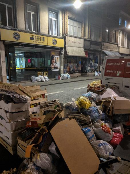 gunoaie in Bruxelles