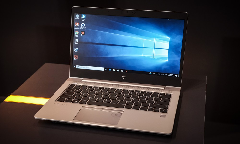 laptop HP cu Windows 10