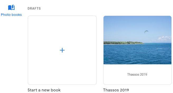 cum sa comanzi fotocarte Google Photos