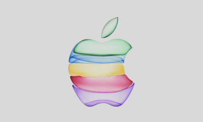logo-ul Apple colorat