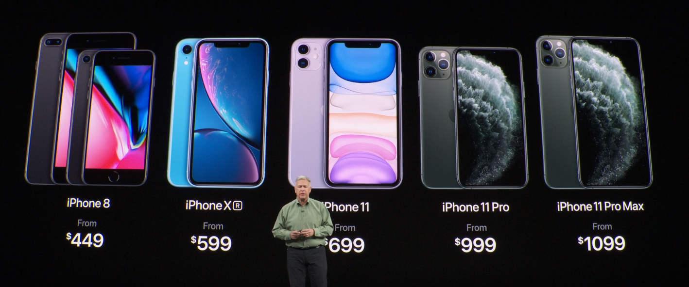 noile prețuri iPhone 11