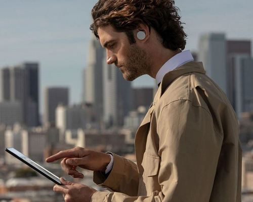 Surface Earbuds side