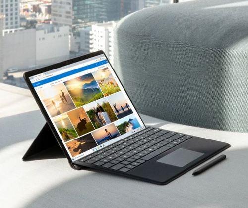 Surface Pro X side