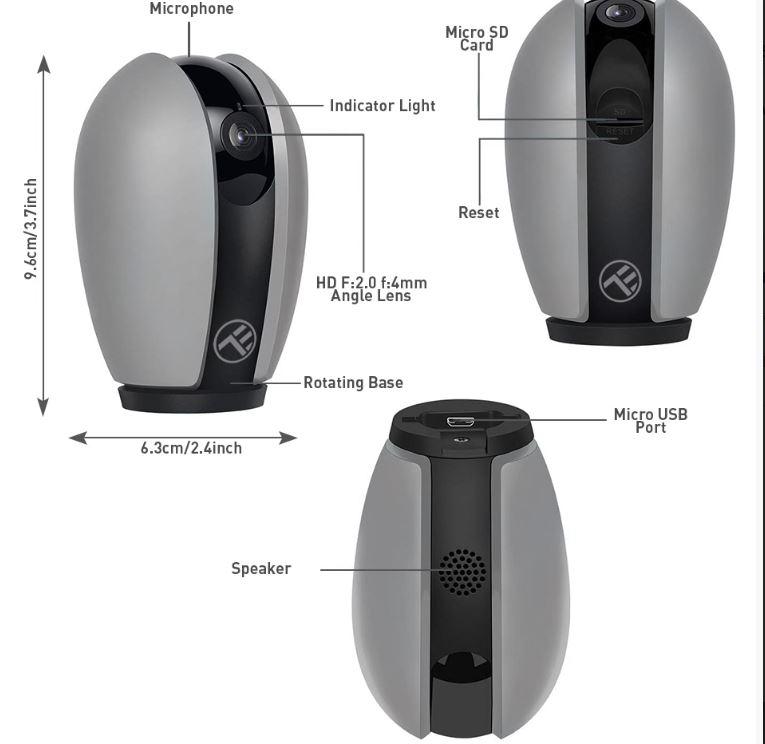 componente camera Tellur