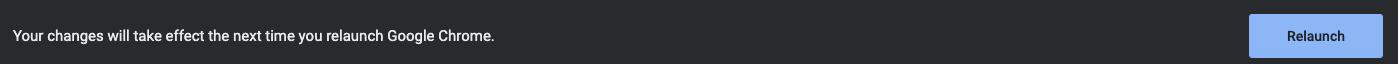 Relaunch tab-uri Chrome