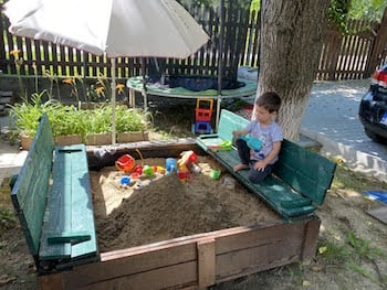 cutia nisip finală