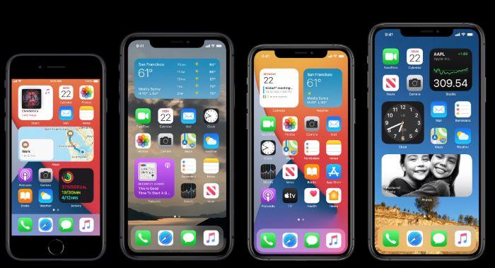 iOS14 widgets