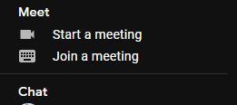 scapă de Google Meet
