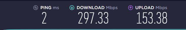 speedtest rds cablu