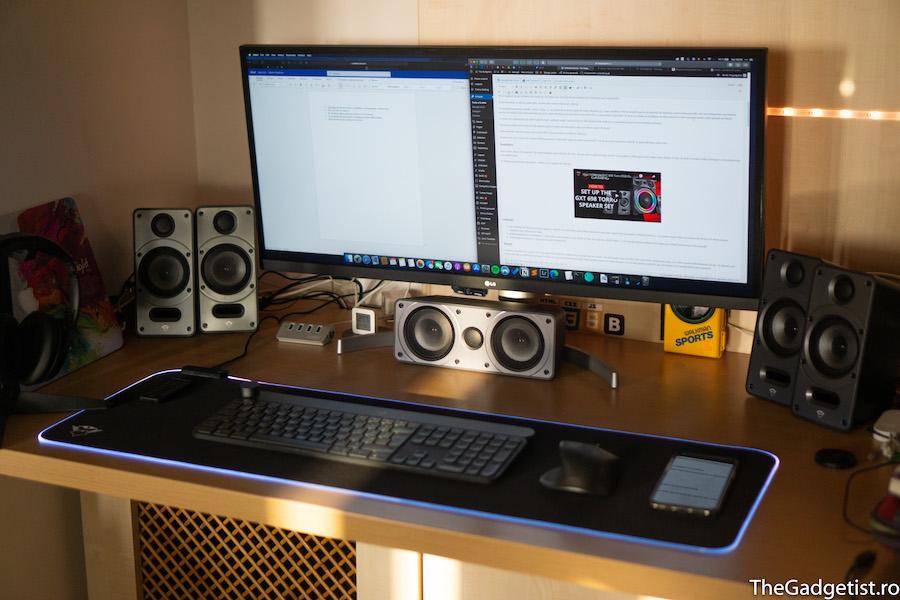 setup Boxe Trust GXT 698