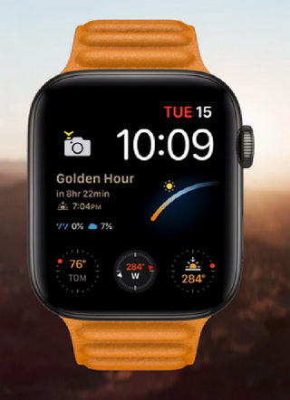 Apple Watch Series 6 photographer watch face