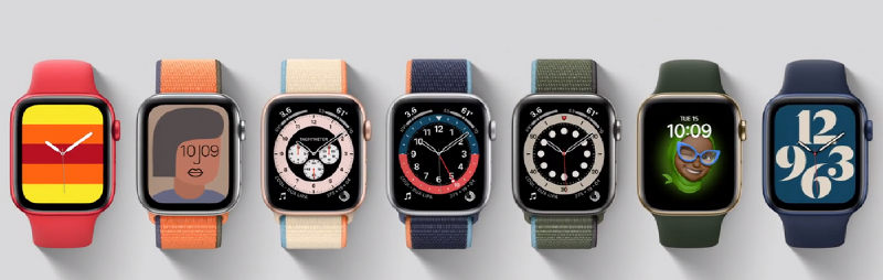 Apple Watch series 6 watchfaces