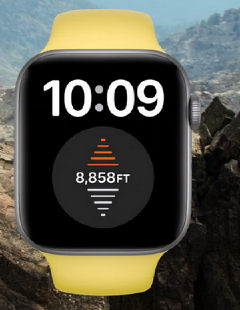 Apple watch altimetru