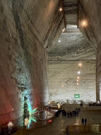 interior mina slanic prahova