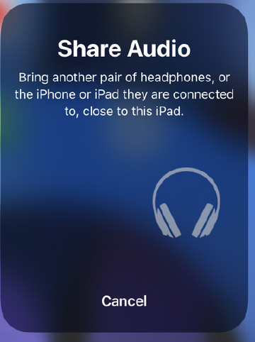 share audio apropie AirPods
