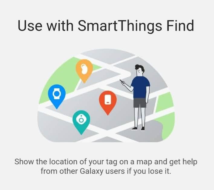 smartThings Find gaseste pe harta folosind alte dispozitive Samsung