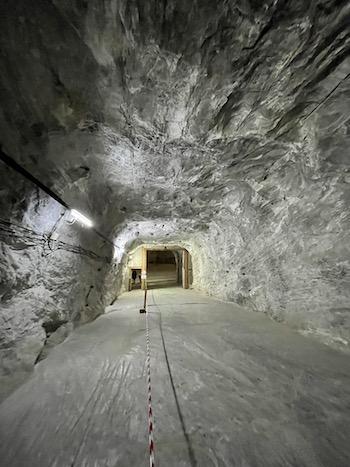 tunel mina slanic prahova
