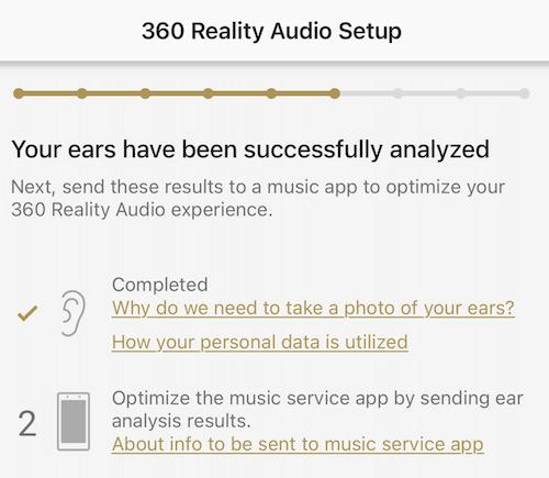 SONY WF-SP800N 360 reality audio