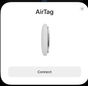 conectare AirTag