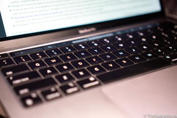 tastatura MacBook pro m1